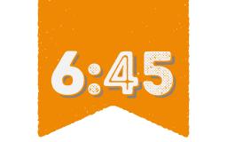 6:45 <br /> 0 232 360 30 40