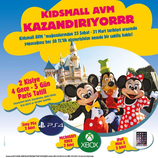Kidsmall AVM Kazandırıyor